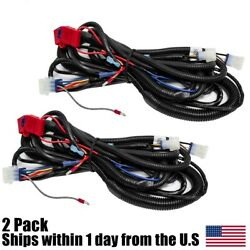 2pk Bucket Harness For Club Car Precedent 2008 And Up Electric And Gas Golf Carts