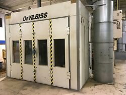 DEVILBISS Paint Spray Booth  Oven Drying Room System 53'L x 13.5'W