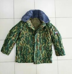 Original Russian Army Winter Jacket. Vsr-93 Flora Camouflage. New