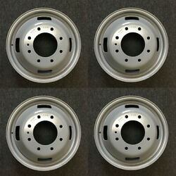 Set Of 4 17x6.5 Dually Steel Wheels For 05-16 Ford F350 Super Duty Oem Qlty 3615