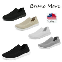 Bruno Marc Men#x27;s Casual Slip On Loafer Shoes Mesh Breathable Walking Sneakers