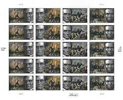 President Abraham Lincoln 42 Cent Usps Stamp Sheet 20 Stamps 2009 42c Usa Us 09