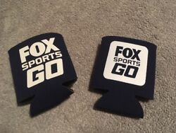 Fox Sports Go Southwest Navy Blue 2 Beer Can / Bottle Coozie
