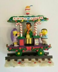 The Simpsons Christmas Express Train Collection Have A Squishee Christmas