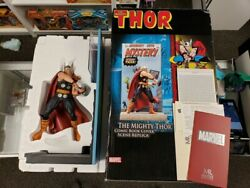 2007 Comic Cover Scene Replica The Mighty Thor Statue Marvel Master Pre-owned