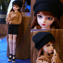 1/3 Bjd Doll Girls Xmas Gift + Free Eyes + Face Makeup + Wigs + Warmer Clothes
