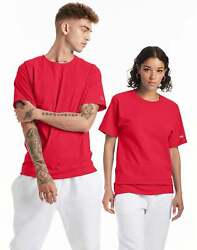 Champion Mens Classic Jersey Tee T-Shirt Athletic Fit Ringspun Short Sleeve 0223 $11.47