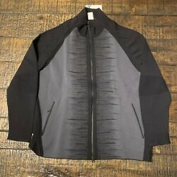 Nike Nikelab Woven Knitted Windrunner Black Jacket Menand039s Sz Xl Aa4842-010