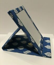 Newles Olivades Provence Compact Mirror Blue Pierre Deux