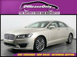 2017 Lincoln MKZZephyr Select EcoBoost AWD Off Lease Only 2017 Lincoln MKZ Select EcoBoost AWD Intercooled Turbo Premium Un
