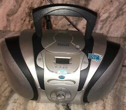 Rca Rcd-122 Digital Am/fm Cd Player Boombox-tested-rare Vintage-ships N 24 Hours