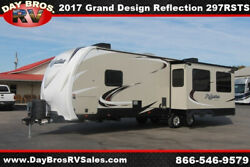 17 Grand Design Reflection 297RSTS Travel Trailer Towable RV Camper Pull Behind