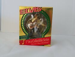 Elvis 1995 Carlton Cards Musical Christmas Ornament 1st In A Collectible Series