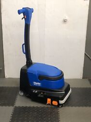 Clarke Cylindrical Ma30-13b Battery Micro Cordless Scrubber Tile And Grout Cleaner