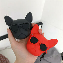 Cute French Bulldog For Airpods Pro 1 2 Silicon Case Bluetooth Cover CASE COVER