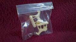 Lionel Post War 2 White Horse Figures For 3356/3366 Stock Car - Repro