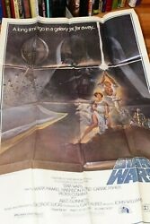 Original - 1977 - Star Wars - 1st Printing One Sheet Poster - Style A 77/21