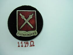 Army Di Dui Pb Pinback Ww2 649th Engineer Battalion Italy Theater Made 990th
