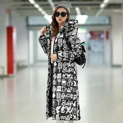 Winter Coat Down Cotton Slim Jacket Hooded Zipper Womenand039s Padded Outerwear Coats