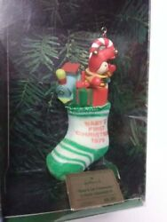 Vintage Hallmark Baby's First Christmas 1979 Ornament Excellent Rare