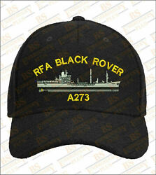 Black Rover Rfa A273 Embroidered Baseball Caps And Beanies