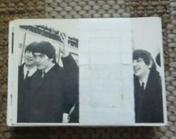 Vintage 1960's 116-125, 127-156,158-164 Set Of Beatles 3rd Series Trading Cards