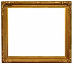 American 1865 Gilded Scoop Picture Frame 28.5x34 Sku 821