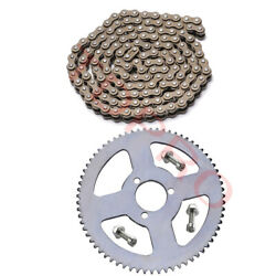 25h Chain 136 Links +68t 29mm Rear Sprocket For 49cc Electric Scooter Razor Bik
