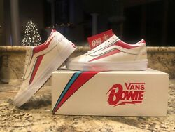NEW IN BOX-2019 Vans David Bowie Old Skool Sneakers Mens size 6 Womens size 7.5