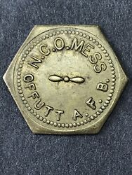 N.c.o. Mess Offutt A.f.b. Air Force Base Good For 5andcent In Trade Nebraska/ne
