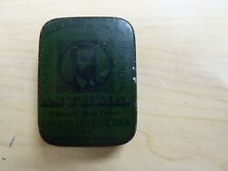 Himrod's Cure Asthma Powder Small / Sample Tin, Late 1800s Pharmacy Advertising