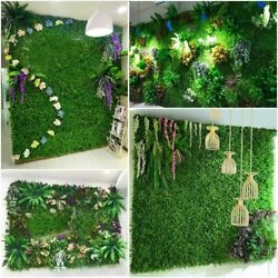 Wedding Event Artificial Grass Lawn Wall Backdrops Decorations Simulation Plants