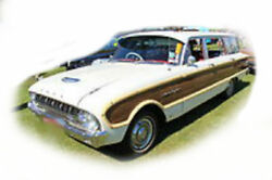 Ford Xk-xl Wagon Rubber Kit - Soft Bailey Channels