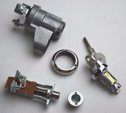 1951 1952 Chevrolet Passenger Car Ignition Switch Kit And Starter Button Complete