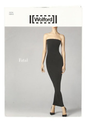 Wolford Fatal Black Tube Dress 8518 Size Small