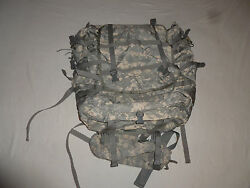 Large Us Army Rucksack Molle Ii Military W Frame Pouches Specialty Defense Bag