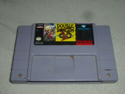 Super Nintendo Snes Game Cartridge Only Double Dragon V The Shadow Falls Cart