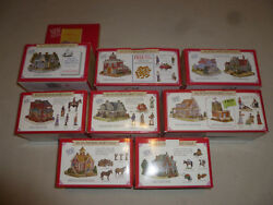 Boxed Liberty Falls Village Lot Of 8 Boones Home Muirs Cottage Anabelle Phillips