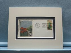 Honoring Desert Plants- The Barrel Cactus And First Day Cover Of Its Own Stamp