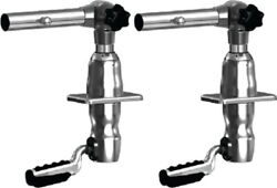 Taco Gs-2801 Pair Outrigger 2801 Grandslam 280 Top Mount W/offset Handle Fishing
