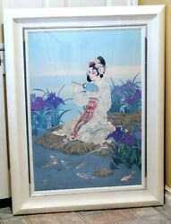 Caroline Young Beauty Of The Ages Signed Le 75/300 Framed Mixed Media Print