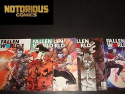 Soulfire Dying Of The Light 0-5 Complete Comic Lot Run Set Aspen Collection