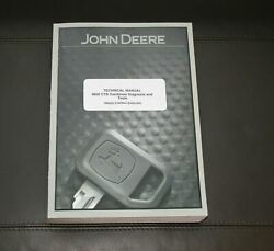 John Deere 9650 Cts Combine Diagnosis And Test Service Manual Tm2022