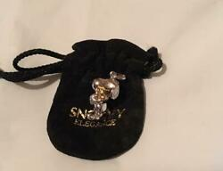 Snoopy Gold Necklace Pendant Head Top Used From Japan F/s