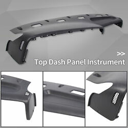 For 1994-1997 Dodge Ram 1500 2500 3500 Dash Panel Instrument Top Gray 5ey72rc8