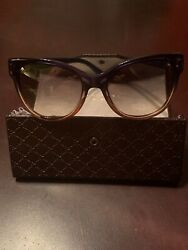 gucci sunglasses women used $100.00