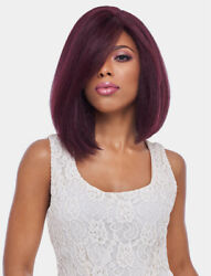 Harlem 125 Synthetic 4x4 Swiss Silk Base Lace Front Wig - Fls08