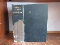 Old Topographical Dictionary Of United Kingdom 1825 England Scotland Ireland Map