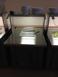 Galley Hot Well Buffet Table Can Accommodate 1 Full Or 2 Half Pans