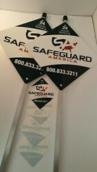 Safeguard Home Security Yard Signs With 8 Stickers Free Shipping